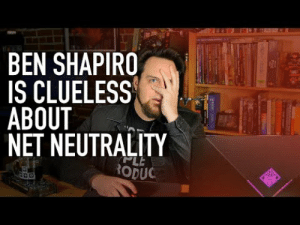 youtube.com, Clueless, and Video: BEN SHAPIRO  IS CLUELESS  ABOUT  NET NEUTRALITY  RODU Tech expert dismantles Ben Shapiro's deeply uninformed and uneducated rant supporting the repeal of net neutrality. Please share and like this (on youtube) since unfortunately Ben's audience and fanbase are disliking this video more than it should be.