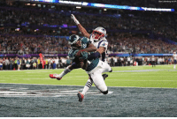 England, Memes, and New England Patriots: Ben Usbenberg via AP The @philadelphiaeagles and the New England @patriots are battling for victory in the SuperBowl. Who do you want to win?