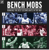 Who do you think has the best bench in the @NBA? 🤔 [Link in bio for Top 10 list] Sponsored via @theScore: BENCH MOBS  RANKING THE BEST SECOND UNITS IN THE NBA  43 .  PISTONS  42  3  CELTICS Who do you think has the best bench in the @NBA? 🤔 [Link in bio for Top 10 list] Sponsored via @theScore