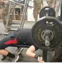 Bench press is by far my weakest lift but we had a competition on one of the bases I go to and I took first in my weight class. Put up 320 I'm pretty happy with it considering I'm in the middle of a hypertrophy block and hadn't been above 80% in about 4 weeks. Army gainz bench powerlifting powerbuilder strugglebus povertybench 😂: Bench press is by far my weakest lift but we had a competition on one of the bases I go to and I took first in my weight class. Put up 320 I'm pretty happy with it considering I'm in the middle of a hypertrophy block and hadn't been above 80% in about 4 weeks. Army gainz bench powerlifting powerbuilder strugglebus povertybench 😂