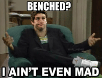 BREAKING: Jay Cutler benched for this week's loss vs the Lions.: BENCHED  @NFL MEMES  I AINT EVEN MAD BREAKING: Jay Cutler benched for this week's loss vs the Lions.