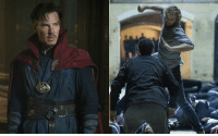 """Memes, 🤖, and Iron Fist: Benedict Cumberbatch helped """"Sherlock"""" co-star Sacha Dhawan land the part of Davos in IRON FIST. http://bit.ly/2mnwDf1  (Andrew Gifford)"""