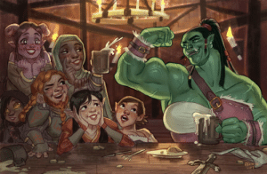 Love, Tumblr, and I Love You: BENN enthusiasticstarprincess:  orcgirls: Tavern byBenjamin Masi  Benjamin I don't know you but wherever you are just know that I love you