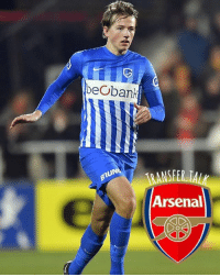 Arsenal are set to beat Everton to the signature of Genk midfielder Sander Berge, reports the Sunday Mirror. The in-demand Norway international is valued at £18m by the Belgian club.: beobank  UN  ANSFER TAL  Arsenal Arsenal are set to beat Everton to the signature of Genk midfielder Sander Berge, reports the Sunday Mirror. The in-demand Norway international is valued at £18m by the Belgian club.