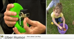 Dad, Easter, and Tumblr: ber Humor  8ob Loblaw Law Blog failnation:  Dad created beeping Easter egg for his blind daughter to hunt