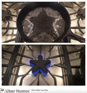 failnation:This stove burner makes water boil in a star pattern: ber Humor  8ob Loblaw Law Blog failnation:This stove burner makes water boil in a star pattern