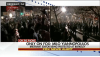 """I annoy the feminists and the Black Lives Matter guys probably almost as much as Donald J. Trump does."" Breitbart editor Milo Yiannopoulos told Tucker Carlson Tonight why he thinks protesters target him. His speech at UC Berkeley was cancelled after violent protests broke out. miloyiannopoulos breitbart liberals libbys democraps liberallogic liberal ccw247 conservative constitution presidenttrump nobama stupidliberals merica america stupiddemocrats donaldtrump trump2016 patriot trump yeeyee presidentdonaldtrump draintheswamp makeamericagreatagain trumptrain maga Add me on Snapchat and get to know me. Don't be a stranger: thetypicallibby Partners: @theunapologeticpatriot 🇺🇸 @too_savage_for_democrats 🐍 @thelastgreatstand 🇺🇸 @always.right 🐘 TURN ON POST NOTIFICATIONS! Make sure to check out our joint Facebook - Right Wing Savages Joint Instagram - @rightwingsavages Joint Twitter - @wethreesavages Follow my backup page: @the_typical_liberal_backup: BERKELEY, CA  7:06 PM PT  KTVU  ON THE PHONE  ONLY ON FOX: MILO YIANNOPOULOS  BREITBART EDITOR BEING PROTESTED AT BERKELEY  Fox NEWS ALERT ""I annoy the feminists and the Black Lives Matter guys probably almost as much as Donald J. Trump does."" Breitbart editor Milo Yiannopoulos told Tucker Carlson Tonight why he thinks protesters target him. His speech at UC Berkeley was cancelled after violent protests broke out. miloyiannopoulos breitbart liberals libbys democraps liberallogic liberal ccw247 conservative constitution presidenttrump nobama stupidliberals merica america stupiddemocrats donaldtrump trump2016 patriot trump yeeyee presidentdonaldtrump draintheswamp makeamericagreatagain trumptrain maga Add me on Snapchat and get to know me. Don't be a stranger: thetypicallibby Partners: @theunapologeticpatriot 🇺🇸 @too_savage_for_democrats 🐍 @thelastgreatstand 🇺🇸 @always.right 🐘 TURN ON POST NOTIFICATIONS! Make sure to check out our joint Facebook - Right Wing Savages Joint Instagram - @rightwingsavages Joint Twitter - @wethreesavages Follow my backup page: @the_typical_liberal_backup"