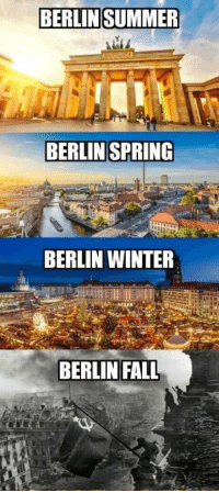 Fall, Winter, and Summer: BERLIN SUMMER  BERLIN SPRING  BERLIN WINTER  BERLIN FALL