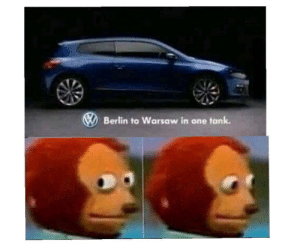 Quite the marketing pitch: Berlin to Warsaw in one tank. Quite the marketing pitch