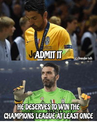 Memes, Champions League, and 🤖: BERN 2015  ADMIT IT  uTransfer talk  HEDESERVESTOWINTHE  CHAMPIONS LEAGUE ATLEASTONCE Buffon 🙌🏽