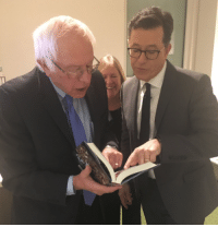 Memes, Stephen, and Bernie: Bernie Sanders is on The Late Show with Stephen Colbert TONIGHT!