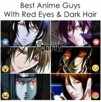 Memes, 🤖, and Red Eye: Best Anime Guys  With Red Eyes & Dark Hair Sebastian's brothers . . . . . . . . . .