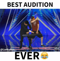 Best Friend, Boxing, and Memes: BEST AUDITION  abz  @Lanky Box  EVER We went on national television and DABBED 😂 TAG YOUR BEST FRIEND! xfactor agt dab FOLLOW US @LankyBox for more videos! (Full vid in bio)