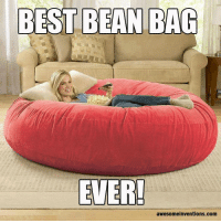 Agree ?: BEST BEAN BAG  EVER!  awesomeinventions.com Agree ?