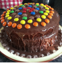 Best birthday cake ever made by my sister @valkyrie_is_me ! 🎂🍰🎂🍰🎂🍰🎂 cake food magicstars birthday birthdaycake chocolate sweets candy mandms yum homemade