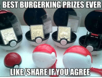 Lost, Best, and Dank Memes: BEST BURGERKING PRIZES EVER  LIKESHARE IF YOU AGREE I lost mine... Who remember these?   Like hoarrrrrr