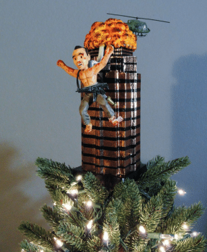 Best Christmas Tree Topper I have seen.: Best Christmas Tree Topper I have seen.