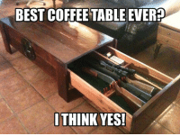 Memes, Best, and Coffee: BEST COFFEE TABLE EVER?  ITHINK YES! Double tap if you want this!!