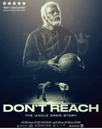 """Kyrie Irving, Movies, and Sports: """"BEST CROSSOVER""""  BLEACHER REPORT  DON'T REACH  THE UN CLE DREW STORY  DOLBY STEREO Kyrie Irving said he's planning something big for Uncle Drew's next chapter…Movie time? 🍿"""