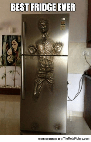 awesomesthesia:  Solo Carbonite Fridge: BEST FRIDGE EVER  you should probably go to TheMetaPicture.com awesomesthesia:  Solo Carbonite Fridge