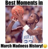 "March Madness, Memes, and Best: Best MomentS In  NORTH  March Madness History! March Madness Begins March 14th, who do you got? - Comment ""W"" 3 times! - Follow @floaters for more!"
