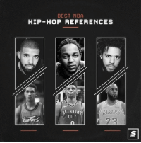 Basketball, Nba, and Sports: BEST NBA  HIP- HOP REFERENCES  KLAHOM  CITY  AKERS  RaplorS What are you fav NBA hip-hop references? LINK IN BIO to see the top 10 best sponsored via @thescore