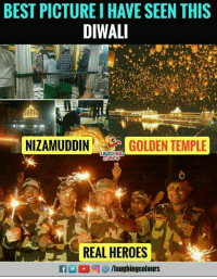 diwali: BEST PICTURE I HAVE SEEN THISs  DIWALI  da  NIZAMUDDINGOLDENTEMP  AUGHING  REAL HEROES