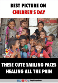 #HappyChildrensDay: BEST PICTURE ON  CHILDREN'S DAY  LAUGHING  THESE CUTE SMILING FACES  HEALING ALL THE PAIN #HappyChildrensDay
