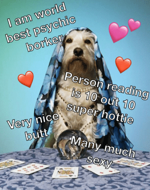 Psychic Borker knows the truth: best psychic  borker  I am world  Person reading  fis 10 Out 10  super hottie  Very nice  butt  Many much  sexy Psychic Borker knows the truth