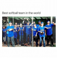 Fucking, Memes, and Best: Best softball team in the world  SGMW Fucking iconic greysanatomy