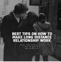 Memes, 🤖, and The Link: BEST TIPS ON HOW TO  MAKE LONG DISTANCE  RELATIONSHIP WORK  READ OUR NEW ARTICLE  LINK IN OUR BIO  HIG H IN LOVE Read our new article via the link in our bio @highinlove 🎁 Let us know what you think in the comments below 💌😊👇