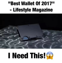 "Memes, Best, and Free: ""Best Wallet Of 2017  - Lifestyle Magazine  I Need This! @survivalprepshop Clearing out RFID Defender Slim Wallets! 💵 - FREE Worldwide Shipping! Buy from link in bio @footballmemesinsta or direct ↙️ @survivalprepshop @survivalprepshop"