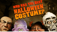 Halloween is here and Achmed The Dead Terrorist, Walter, Peanut, Bubba J, Jose and a few of their friends are picking out costumes for Halloween! Who wears it best? That's up for debate. Check out how the guys celebrate one of their favorite holidays! Trick-or-treat?  Be sure to check out all of our weekly YouTube videos and subscribe to see them first! http://bit.ly/JeffDunham_Essential_Playlist: BEST  WHO HAS COSTUME Halloween is here and Achmed The Dead Terrorist, Walter, Peanut, Bubba J, Jose and a few of their friends are picking out costumes for Halloween! Who wears it best? That's up for debate. Check out how the guys celebrate one of their favorite holidays! Trick-or-treat?  Be sure to check out all of our weekly YouTube videos and subscribe to see them first! http://bit.ly/JeffDunham_Essential_Playlist