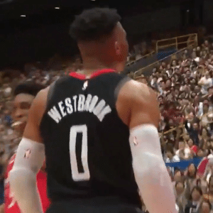 Memes, Russell Westbrook, and Game: BESTRANA Russell Westbrook's 2nd preseason game with the Rockets.   25 MINS 22 PTS 7-17 FG 3-11 3PT 4 AST 4 TO 3 STL 3 REB    https://t.co/BdnRp5yjtA