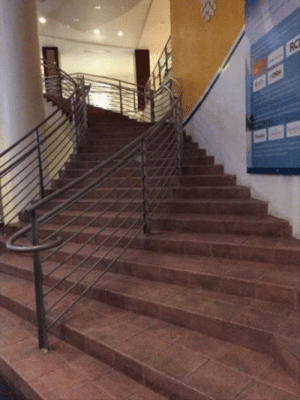 Bet, This, and Get: Bet a lot of people get tricked by this staircase
