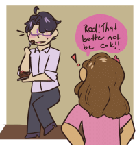Target, Tumblr, and Blog: bether nol aphtonio: austria month day 8 ! @austriamonth aka, rod spoils his dinner every night and liz has had it up to here with him   Roderich roderichYes Hungary?Eating cake?No HungaryTelling lies?No HungaryOpen your mouthFuck off Hungary