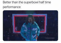 Nba, Superbowl, and Time: Better than the superbowl half time  performance  SPALDING  @nbamemes FORREAL NBAAllStar 🤷♂️🤷♂️