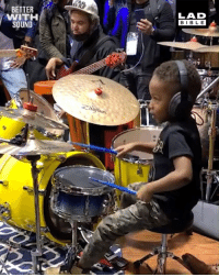 This four-year-old kid makes drumming look effortless. What a talent! 👏🥁  Eric Fortaleza x Justin A Wilson II - LJ: BETTER  WITH  SOUND  LAD  BIBLE This four-year-old kid makes drumming look effortless. What a talent! 👏🥁  Eric Fortaleza x Justin A Wilson II - LJ