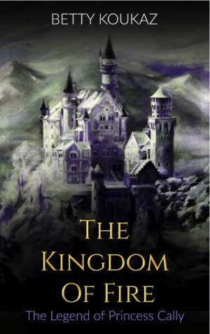 Amazon, Beautiful, and Fire: BETTY KOUKAZ  THE  KINGDOM  OF FIRE  The Legend of Princess Cally lol-coaster:    The Kingdom Of Fire: The Legend of Princess Cally - Kindle Edition   Deep in a valley surrounded by mountains lives Princess Cally, beautiful and unique in complexion. This is a story of a young princess, her father, and the mysterious events that unfold in the inner parts of the Earth. In a World with monarchies, kingdoms, creatures and human-like beings, controlled by the Empress Grav and her laws, Cally lives in a monarchy, cut off from the outer world when a group of people from various kingdoms suddenly enters the Charcoal Monarchy, everything changes