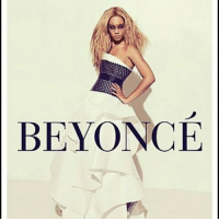 a poster: BEYONCE a poster