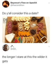 """<p>Had to share. via /r/memes <a href=""""https://ift.tt/2MPo5Hw"""">https://ift.tt/2MPo5Hw</a></p>: Beyonce's Flow on Apeshit  @thacondition  Do y'all consider this a date?  DAN  MEMEOLOS  @eljo  the longer I stare at this the wilder it  gets <p>Had to share. via /r/memes <a href=""""https://ift.tt/2MPo5Hw"""">https://ift.tt/2MPo5Hw</a></p>"""