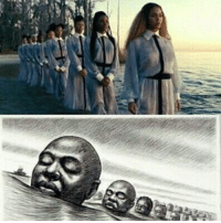 """Beyonce's """"Love Drought"""" video scene is about the """"Igbo Landing"""" story - An act of mass resistance against slavery. A group of Igbo slaves revolted, took control of their slave ship, grounded it on an island... And rather than submit to slavery, proceeded to march into the water while singing in Igbo, drowning themselves in... The song they sang in the Igbo language meant """"The Water Spirit brought us, the Water Spirit will take us home"""" Repost from @africanarchives blackhistorymonth blackhistory ancestors becauseofthemwecan: Beyonce's """"Love Drought"""" video scene is about the """"Igbo Landing"""" story - An act of mass resistance against slavery. A group of Igbo slaves revolted, took control of their slave ship, grounded it on an island... And rather than submit to slavery, proceeded to march into the water while singing in Igbo, drowning themselves in... The song they sang in the Igbo language meant """"The Water Spirit brought us, the Water Spirit will take us home"""" Repost from @africanarchives blackhistorymonth blackhistory ancestors becauseofthemwecan"""