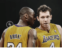 """""""Honestly, the hardest one to guard was in practice. №24. Kobe Bryant. There was nothing like trying to guard him on that wing when you were iso-ed.  You were literally helpless. He was such an asshole. He'd tell you about too. He wasn't just going; he treated practice as games.   It was no different to him. If you're competing on the court, he was trying to kill you and he was telling you about it.   As a man, it's tough to hear someone tell you about how they're going to kill you and then [watch them] kill you.""""  - LA Lakers coach Luke Walton on the hardest player he ever had to guard in the NBA  #MambaMentality: BF  BRIAN  LAKERS """"Honestly, the hardest one to guard was in practice. №24. Kobe Bryant. There was nothing like trying to guard him on that wing when you were iso-ed.  You were literally helpless. He was such an asshole. He'd tell you about too. He wasn't just going; he treated practice as games.   It was no different to him. If you're competing on the court, he was trying to kill you and he was telling you about it.   As a man, it's tough to hear someone tell you about how they're going to kill you and then [watch them] kill you.""""  - LA Lakers coach Luke Walton on the hardest player he ever had to guard in the NBA  #MambaMentality"""