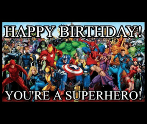 From All Us Avengers a MARVEL AVENTHappy Birthday Rikki ...