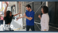 """Dank, Halloween, and Streets: BIELY  ON  THE  lgh  WITH BILLY EICHNER  AI Just in time for Halloween, Billy and comedy superstar Tiffany Haddish join forces to announce they'll be starring as witches in a """"more inclusive"""" remake of the Halloween classic, Hocus Pocus! Watch as Billy, a gay man, and Tiffany, a black woman, hit the streets to find someone to play the third witch to round out their more diverse cast! Happy Halloween!"""