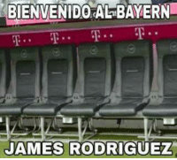 Espanol, Bayern, and James Rodriguez: BIENVENID0  AL  BAYERN  JAMES RODRIGUEZ Danke James :v Walber.