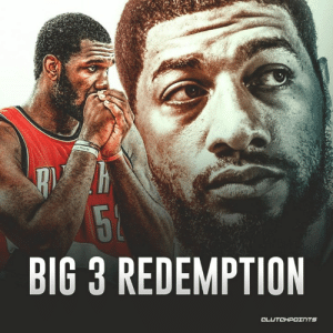 Nba, Lost, and Today: BIG 3 REDEMPTION Royce White lost his NBA career over fear of flying on planes. Greg Oden lost his over knee injuries. Today, both of them were drafted into the Big 3.