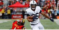 Penn State RB Saquon Barkley intends to enter 2018 #NFLDraft: https://t.co/TMDTdxgfg7 (via @NFL_CFB) https://t.co/6DVyD4liNo: BIG  AND Penn State RB Saquon Barkley intends to enter 2018 #NFLDraft: https://t.co/TMDTdxgfg7 (via @NFL_CFB) https://t.co/6DVyD4liNo