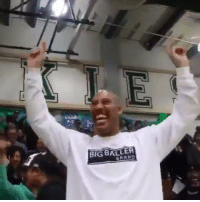 Memes, 🤖, and Big: BIG BALLER The shot that gave LaMelo Ball his 92 points last year and LaVar losing it 😂😂 @Lavarbigballer @MELOD1P via @grindforhome https://t.co/IsefzrJIfL