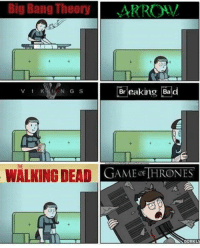 :): Big Bang Theory  V 1 K  NGs Breaking Bad  THE  WALKING DEAD  GAME THRONES :)